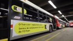 OC Transpo says R1 replacement buses won't run along the LRT line this week.