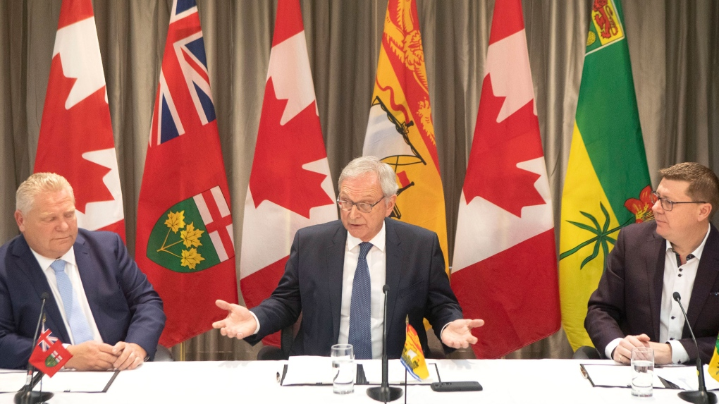 Three premiers plan to fight climate change by investing in small nuclear reactors