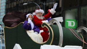 Children and adults turned out to watch Santa Claus come to town for the 16th Annual Santa Claus parade on Sunday, Dec. 1, 2019.