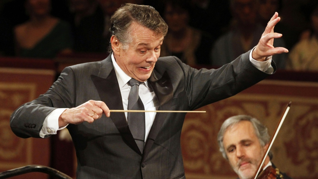 Conductor Mariss Jansons in 2012