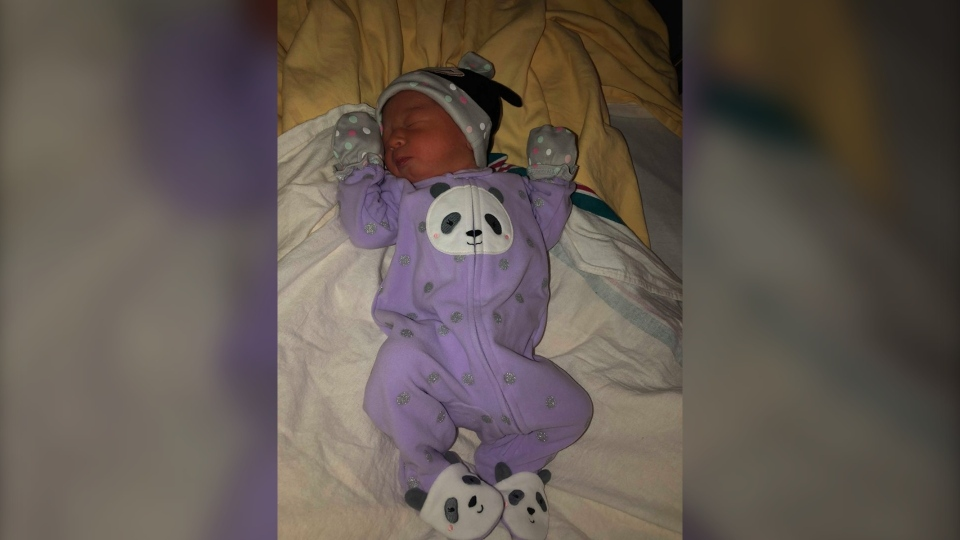 Baby born at women's hospital