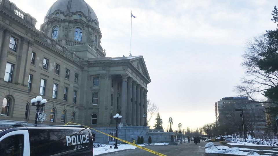 Non-criminal incident at legislature
