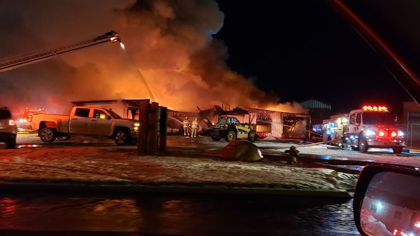 Ponoka Slaughterhouse Fire