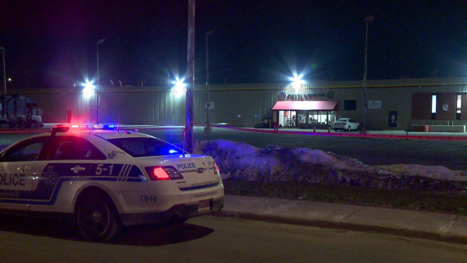 Parking lot shooting in Dorval