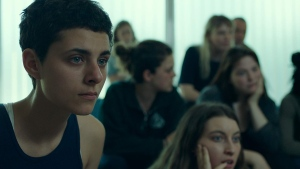 Nahema Ricci is seen in the film Antigone. (Association Coopérative des Productions Audio-Visuelles)