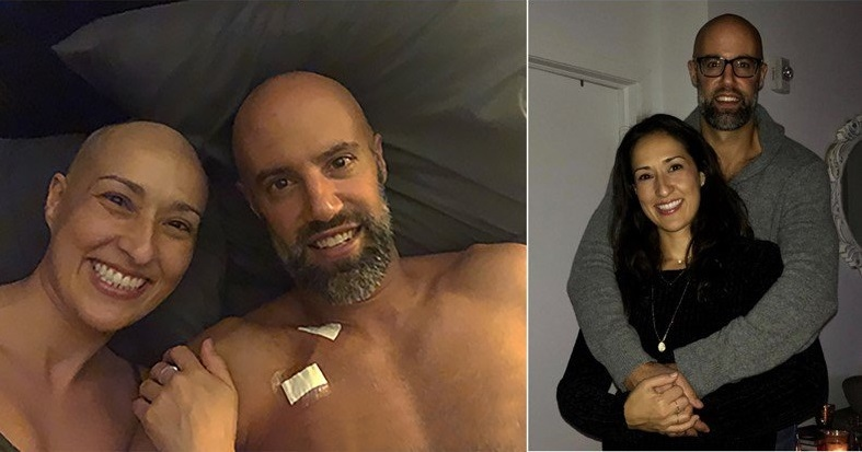 Montreal couple Selma and Nick were diagnosed with cancer within a few weeks of each other. (Courtesy: West Island Cancer Wellness Centre)