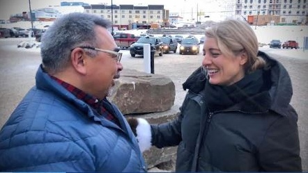 Canada's Minister of Economic Development, Melanie Joly, embarks on national tour. (Supplied)