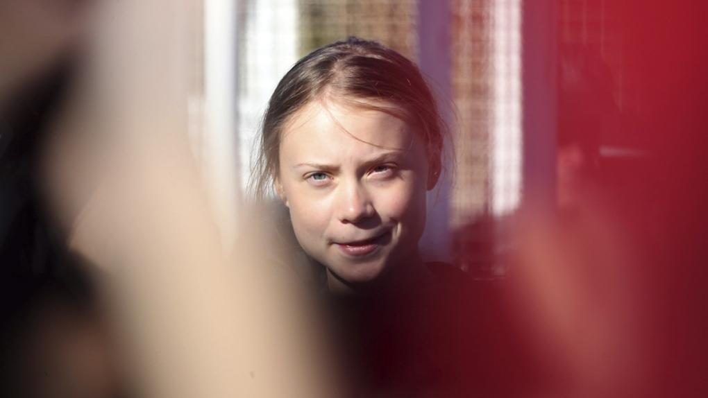 Greta Thunberg arrives in Lisbon, Portugal