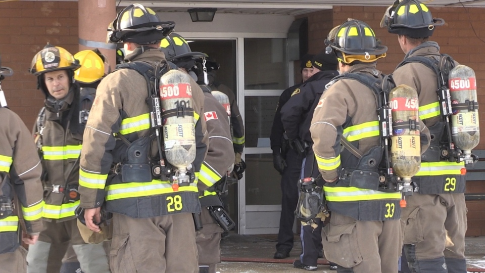 Collingwood Gables Apartment Fire