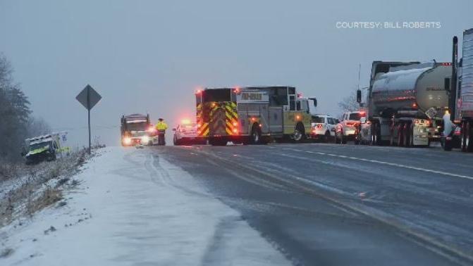 Kentville crash