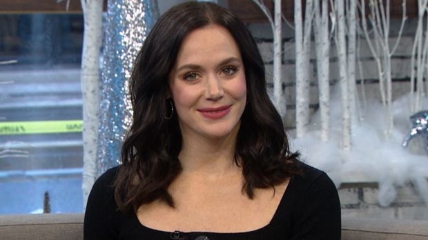 Olympian Tessa Virtue co-hosts CTV's Your Morning on Dec. 3, 2019.
