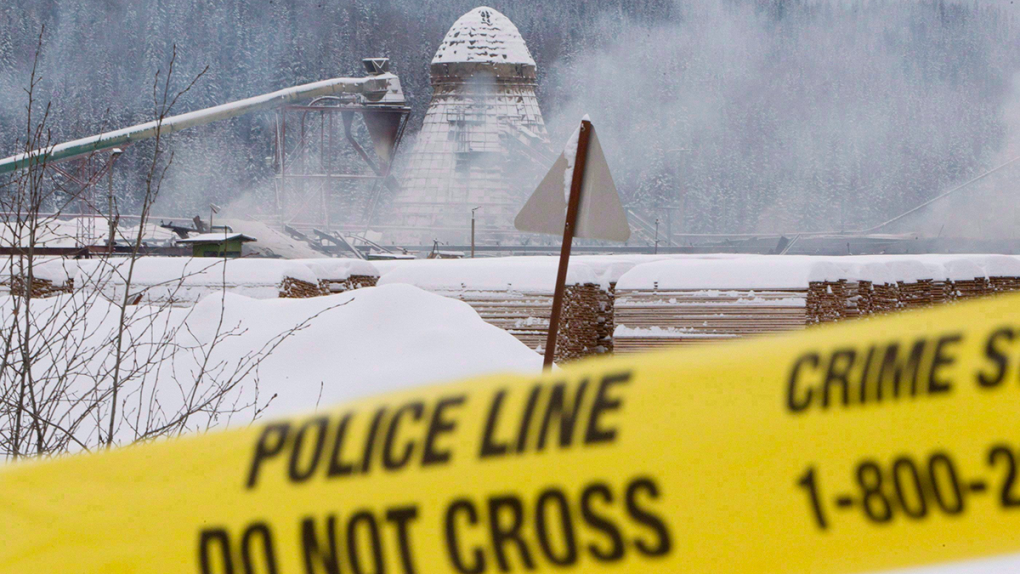 2012 sawmill explosion in BC