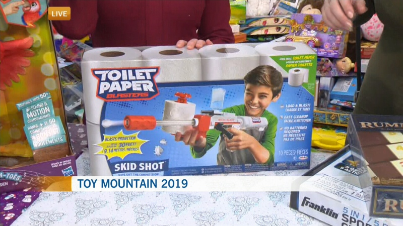 Toy Mountain gifts