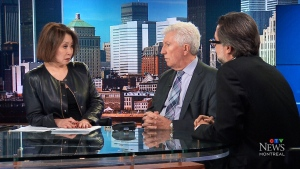 CTV News political analysts Gilles Duceppe and Dav