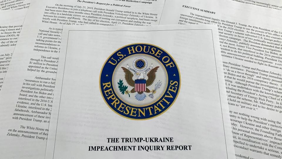 trump impeachment report