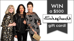 Win a $500 Shepherd's Fashions gift card