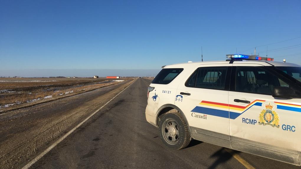 Otterburne turnoff on Highway 59