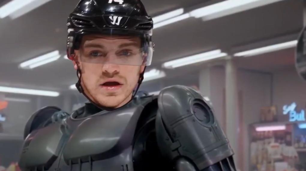 Ottawa Senators tough guy takes down thief in Vancouver