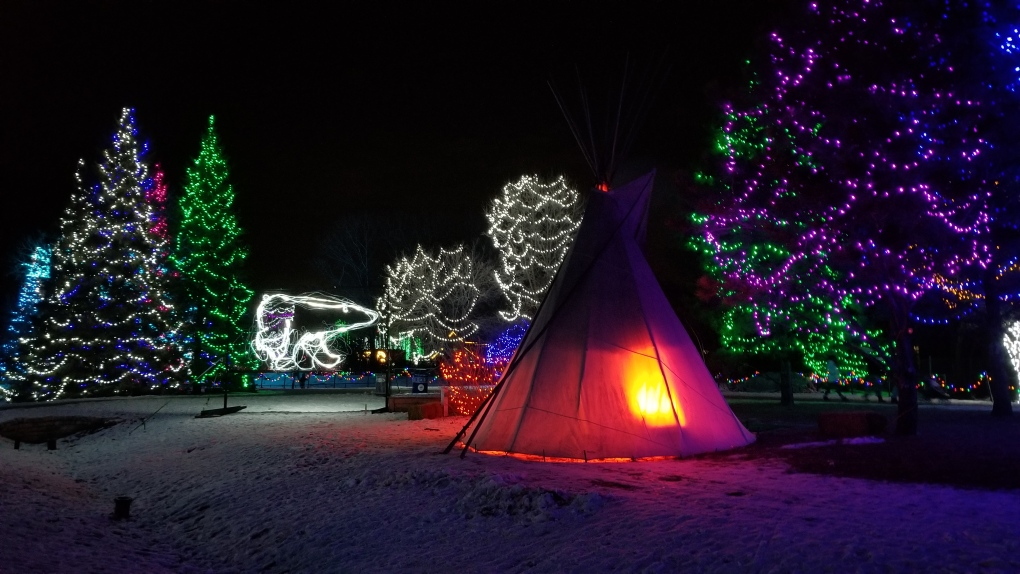 Assiniboine Park Zoo Lights Festival