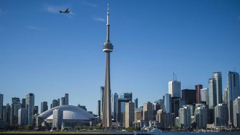 The Toronto skyline is shown on June 21, 2018. THE CANADIAN PRESS/ Tijana Martin