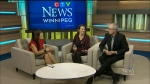 Maralee talks with Shaun Mayberry and Jane Kidd-Hantscher about how the James and Barbara Burns art collection is raising money for cancer. (CTV News Winnipeg)