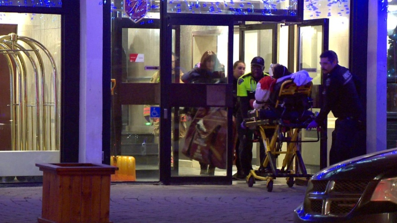A 26-year-old man is dead after a shooting at a downtown Montreal hotel.