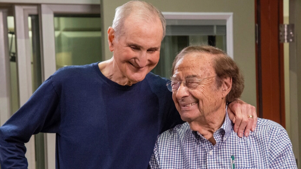 A duo of U.S. retirement home residents just became some of the world's oldest songwriters after releasing their first album together. It touches on the themes of aging, joy and finding new best friends in their golden years. (Randex Communications)