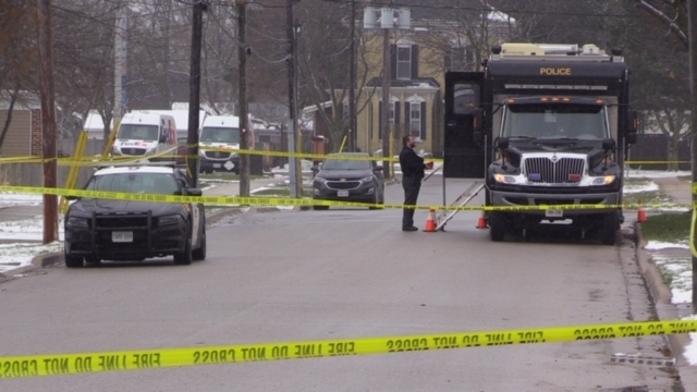 The SIU spent much of the day investigating the police involved shooting in Exeter, on December 4, 2019. (Scott Miller / CTV London)