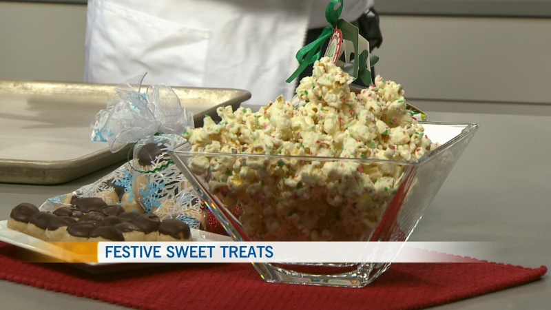 Candy Cane Popcorn, ATCO Blue Flame Kitchen