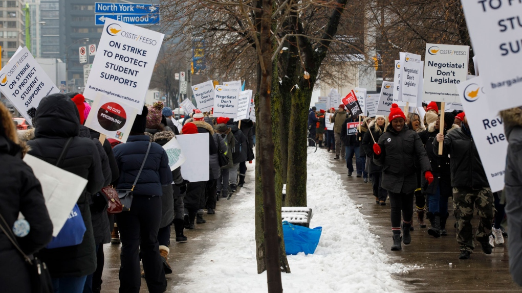 Ontario high school teachers to hold another one-day strike next week