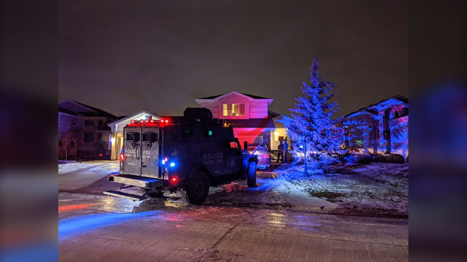 RCMP search homes