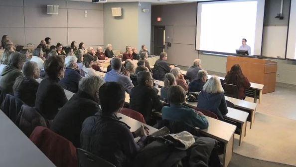 Dr. Robert Suppes presents smelter concerns