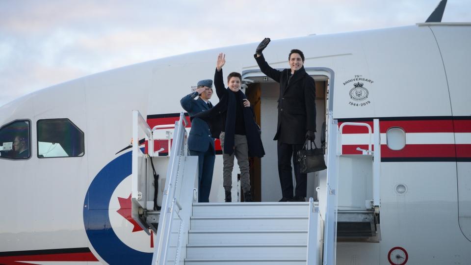 Justin Trudeau plane