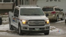 Federal RCMP officers searched a number of locatio