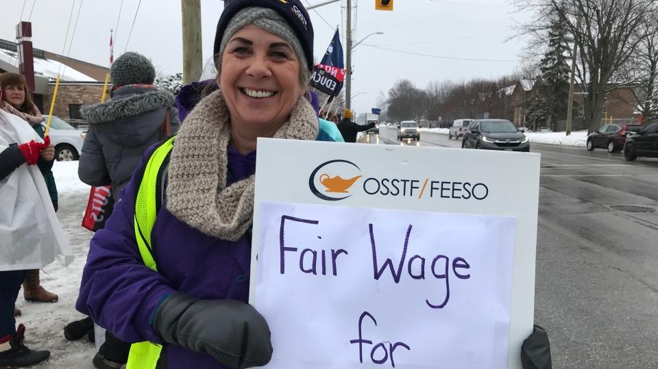 OSSTF strike