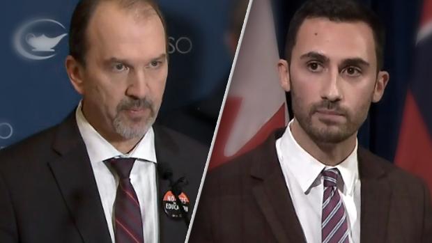 Gloves off in Ontario teacher's strike both sides blame each other