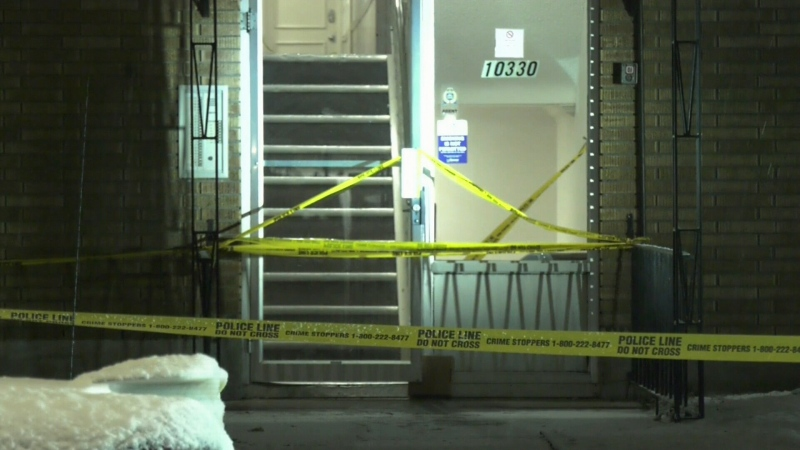 A man was found injured outside an apartment building near 103 Avenue and 115 Street on Dec. 3, 2019. He died in hospital from his injuries.