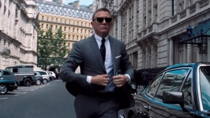 A teaser for the new Bond film 'No Time to Die' has been released. (Metro-Goldwyn-Mayer / CNN)