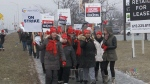 Ontario teachers stage one-day strike