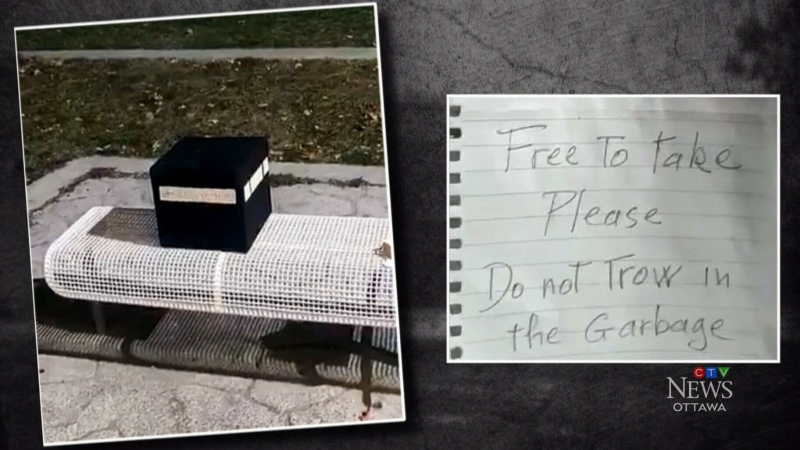 Mysterious package left outside mosque