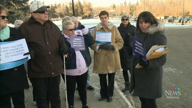 Group rallies for rental assistance program