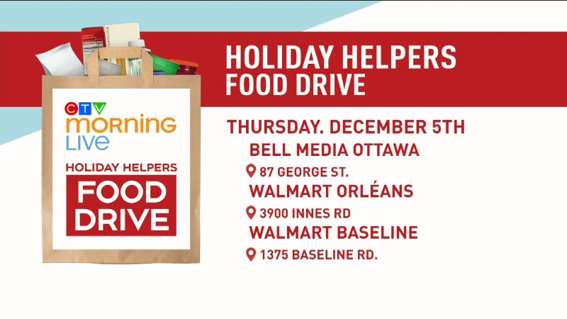 Holiday Helpers Food Drive