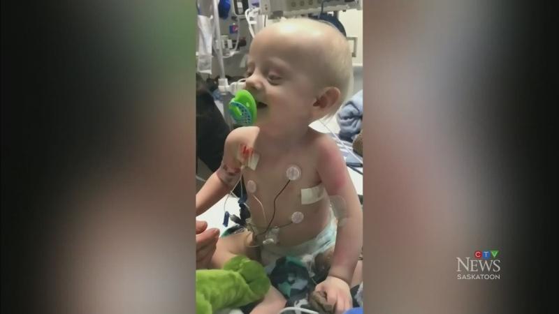 Sask. parents of sick boy grateful for support