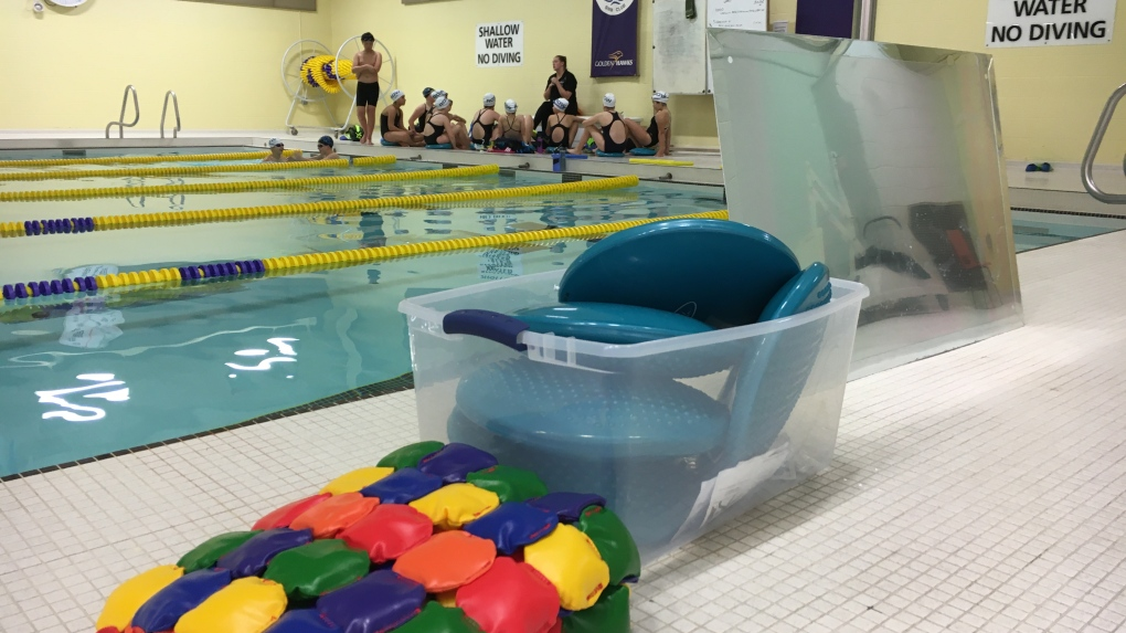 New equipment aims to make swimming more accessible