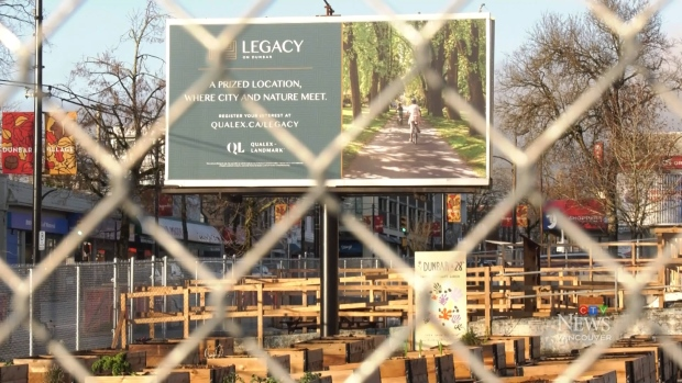 Developers get a tax break when they put community gardens on empty lots that are awaiting development.