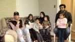 The Al shallal famiy includes Nader, Nagham, Mohammed, Hiba, Adam, mom Sahar and Ayman, all of whom suffered symptoms of carbon monoxide poisoning Saturday. (Another son, Adel, is not in photograph).