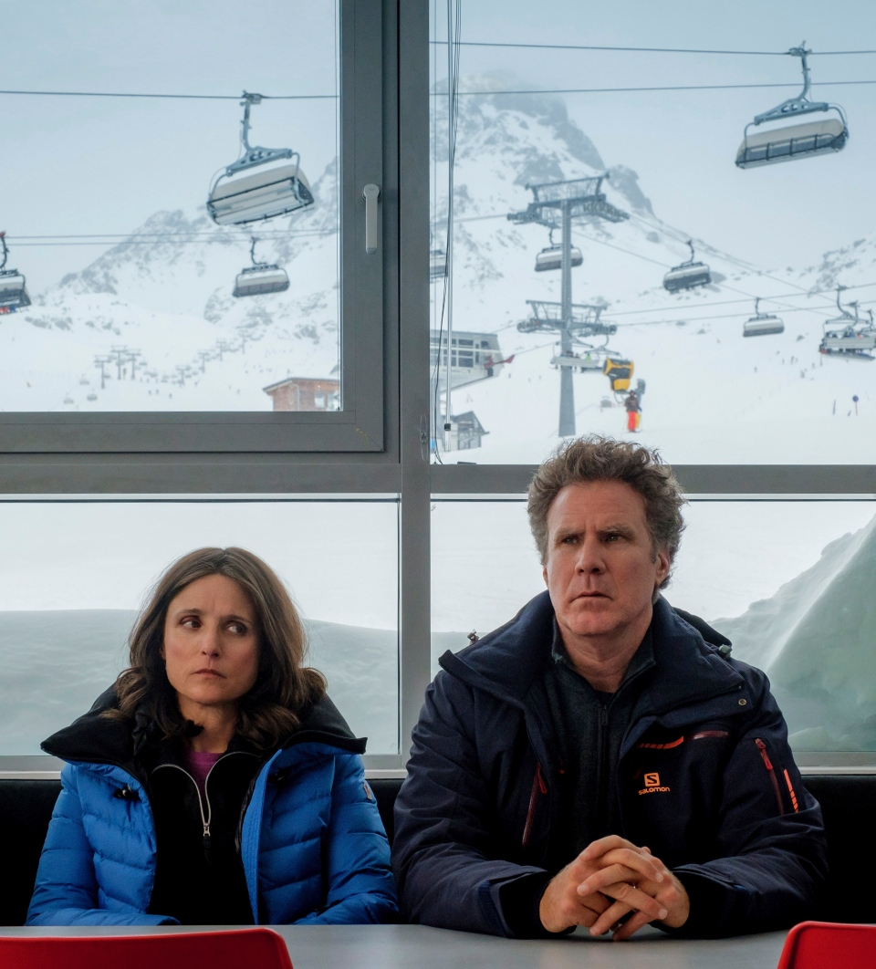 This image released by Fox Searchlight shows Julia Louis-Dreyfus, left, and Will Ferrell in a scene from