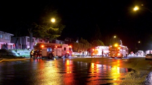 Crews were on scene at an overnight house fire in Vancouver.