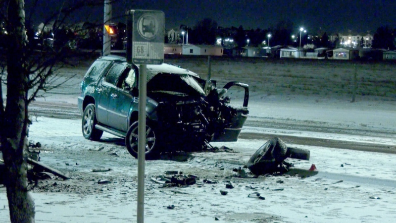 Southeast Calgary fatal crash
