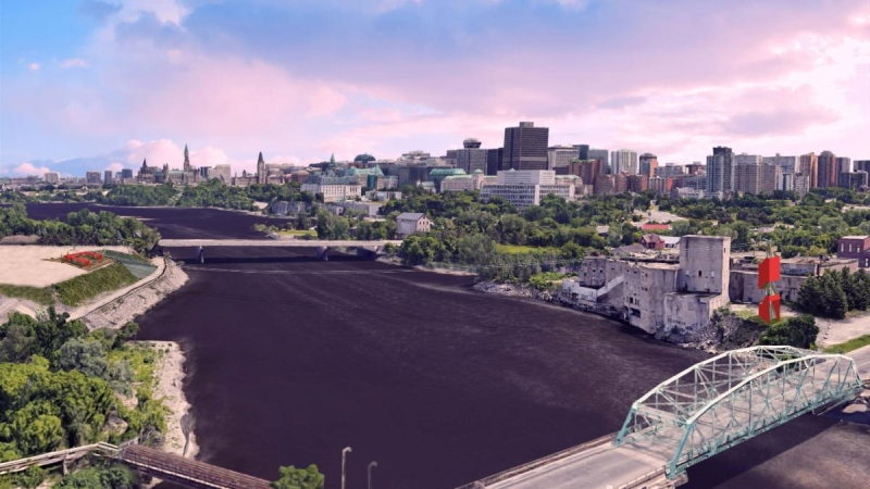 A zip line connecting Ottawa and Gatineau is coming summer 2020.